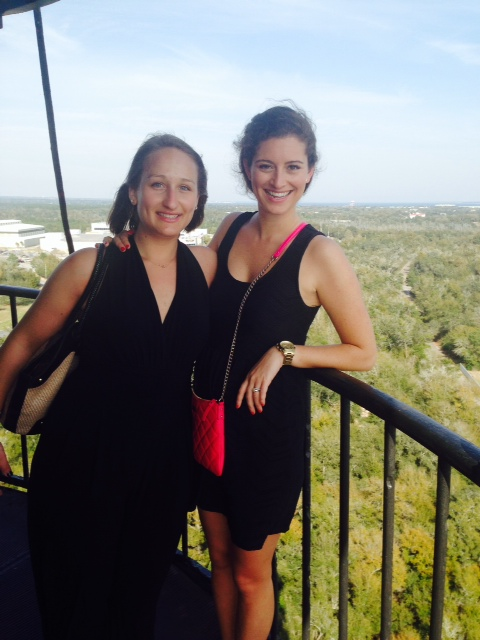 Em + Em climb the Pensacola Lighthouse!