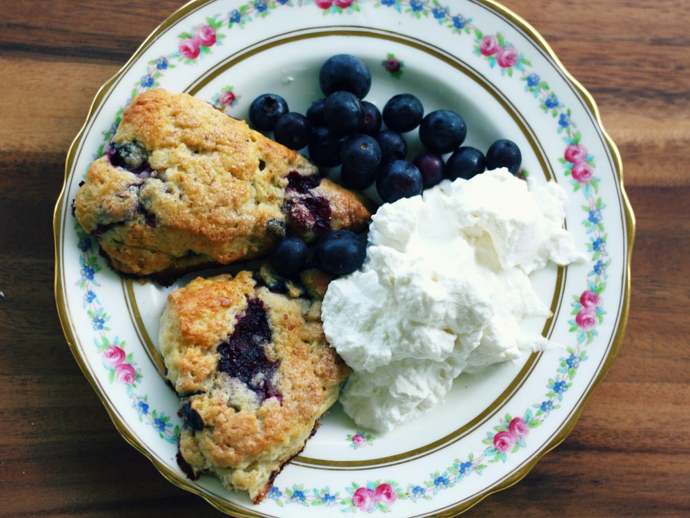 Homemade Blueberry and Cinnamon Scones | The Gallivant