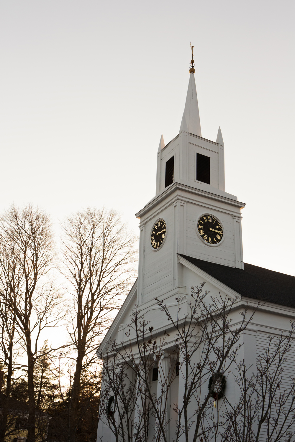 First Congregational Church of Hamilton | Our Wedding | Emily and John Richey | The Gallivant