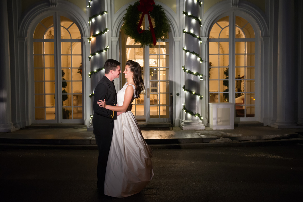 Tupper Manor Winter Wedding | Emily and John Richey | The Gallivant