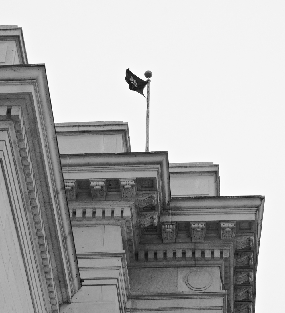 POW-MIA. State Capitol Building. Madison, Wisconsin. March 2016. © William D. Walker