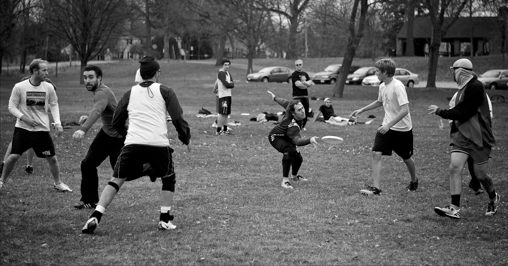 Cut. Burrows Park. Madison, Wisconsin. November 2011. © William D. Walker