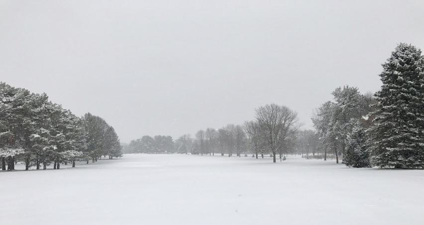 Fairway. Odana Hills. Madison, Wisconsin. December 2016. © William D. Walker