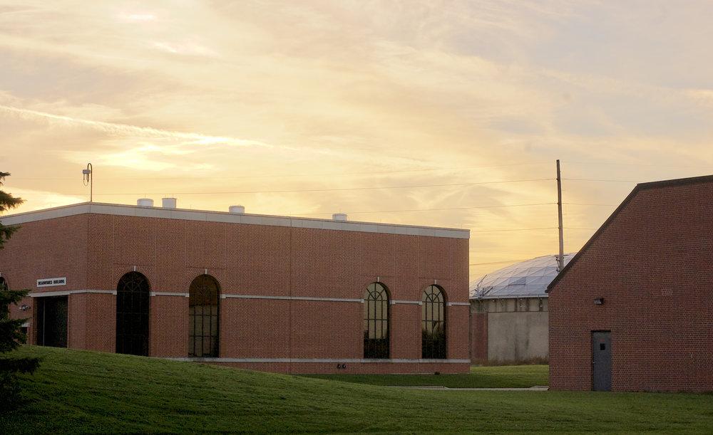 Headworks Building. MMSD. Madison, Wisconsin. November 2016. © William D. Walker