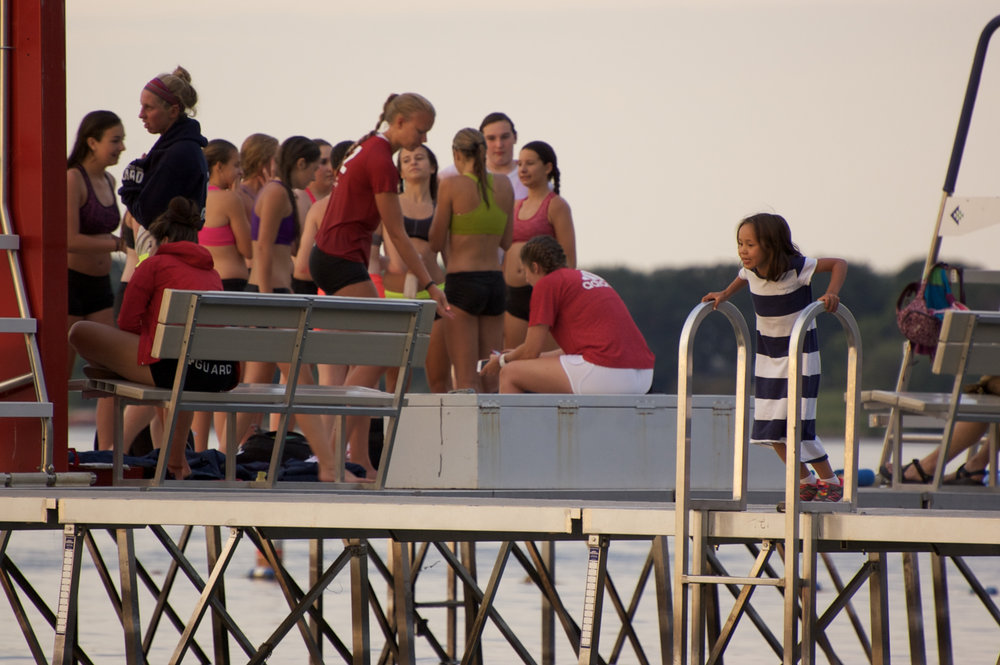 Pier. Memorial Union. Madison, Wisconsin. July 2014. © William D. Walker