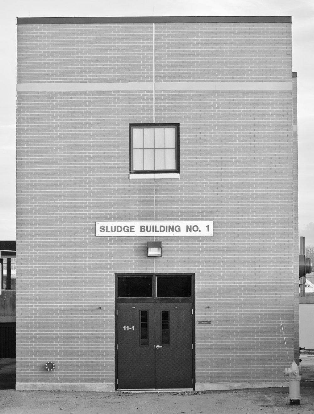 Sludge Building No. 1. MMSD. Madison, Wisconsin. November 2016. © William D. Walker