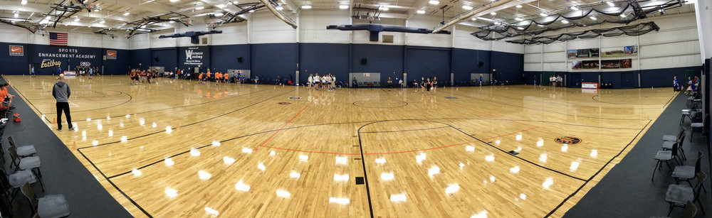 Gymnasium. Stoughton, Wisconsin. December 2014. © William D. Walker