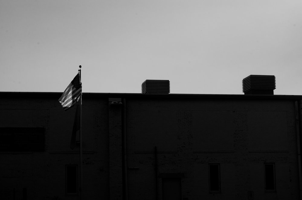 Flag. Madison, Wisconsin. September 2014. © William D. Walker