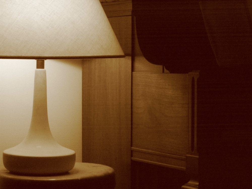 Lamp. Madison, Wisconsin. August 2003. © William D. Walker