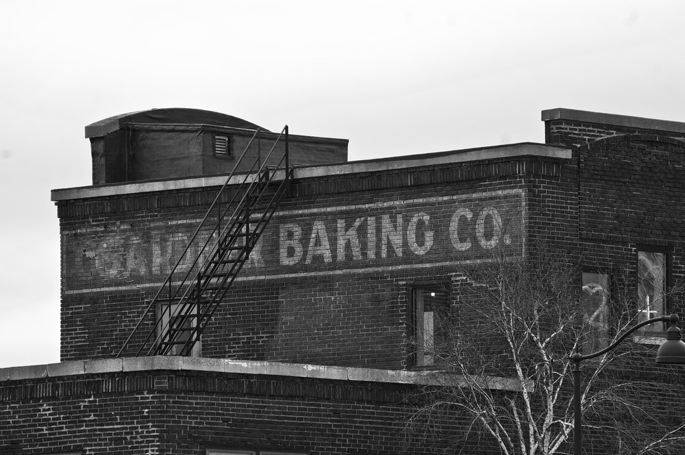 Gardner Baking Co. East Washington Avenue. Madison, Wisconsin. March 2017. © William D. Walker