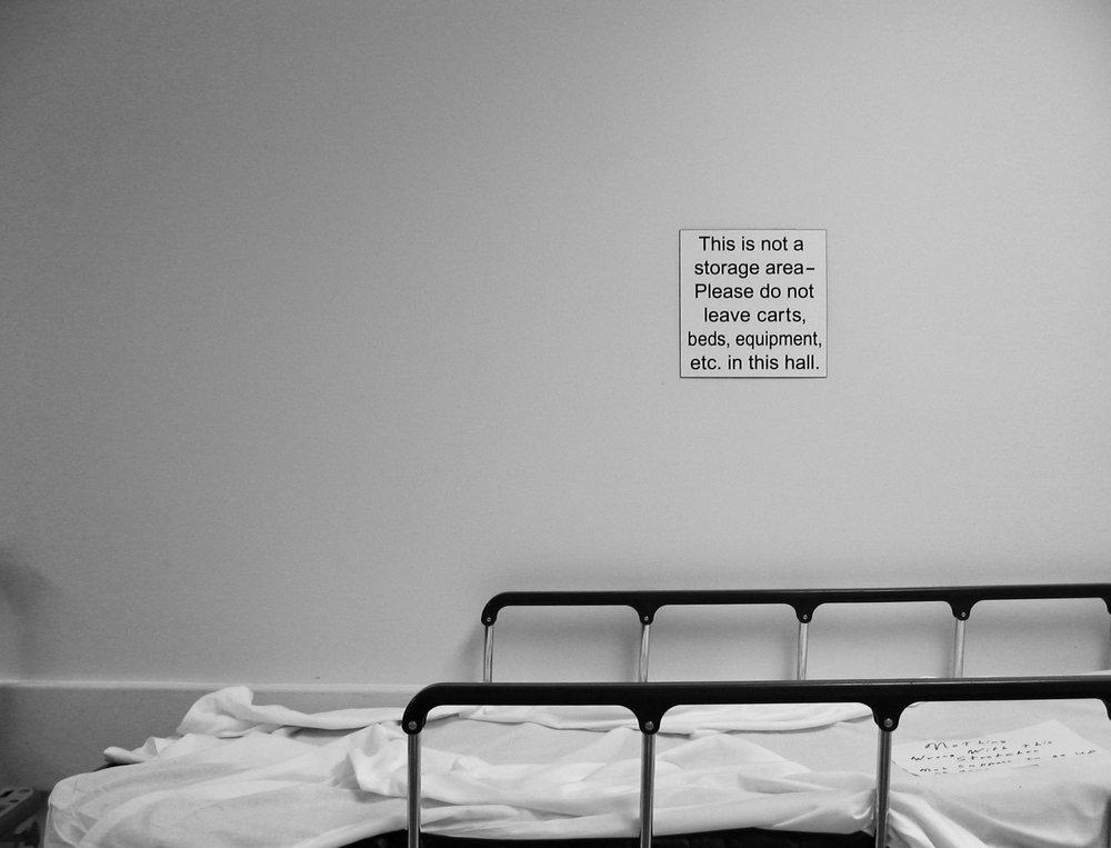 Storage. University Hospital. Madison, Wisconsin. July 2004. © William D. Walker