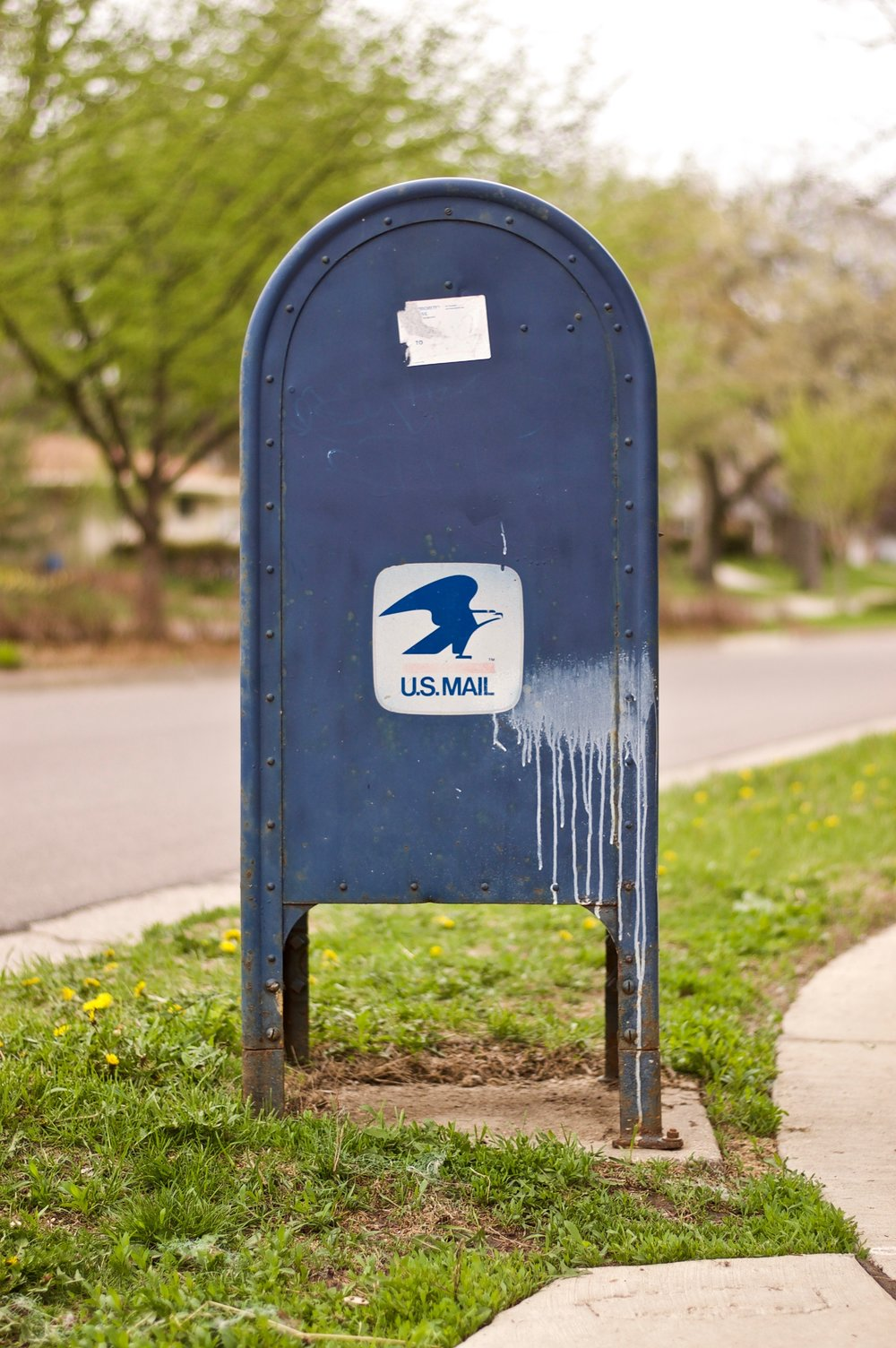 U.S. Mail. Midvale Heights. Madison, Wisconsin. May 2014. © William D. Walker