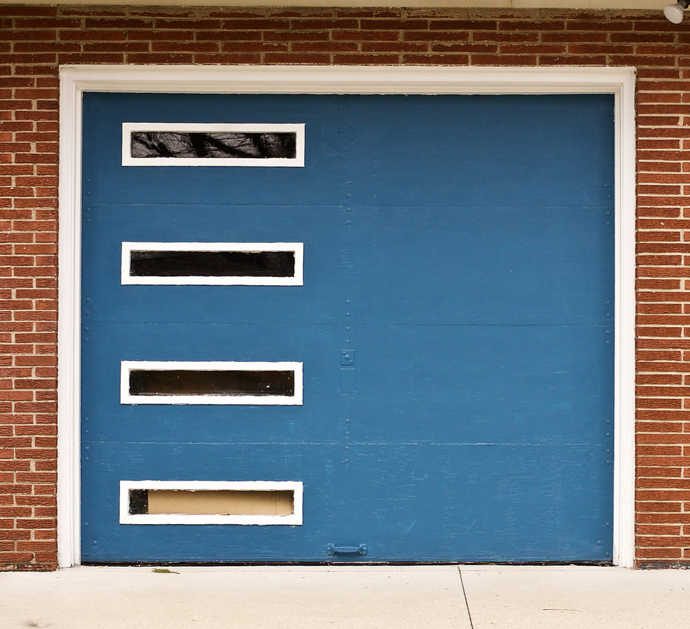 Square Garage. Madison, Wisconsin. April 2017. © William D. Walker