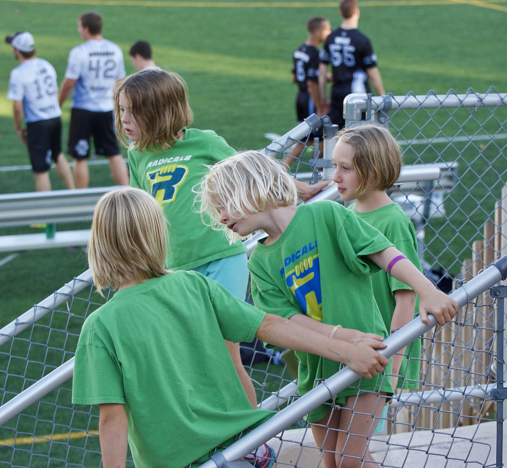 Radicals. Breese Stevens Field. Madison, Wisconsin. July 2017. © William D. Walker
