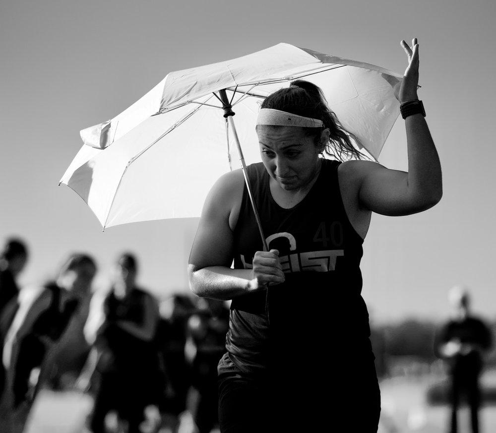Sun Umbrella. Premier Sports Campus. Bradenton, Florida. October 2017. © William D. Walker