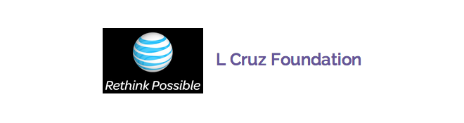 AT&T  and L Cruz Foundation