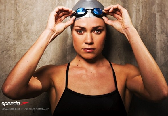 Natalie Coughlin, 12-time Olympic Gold Medalist for Swimming, USA