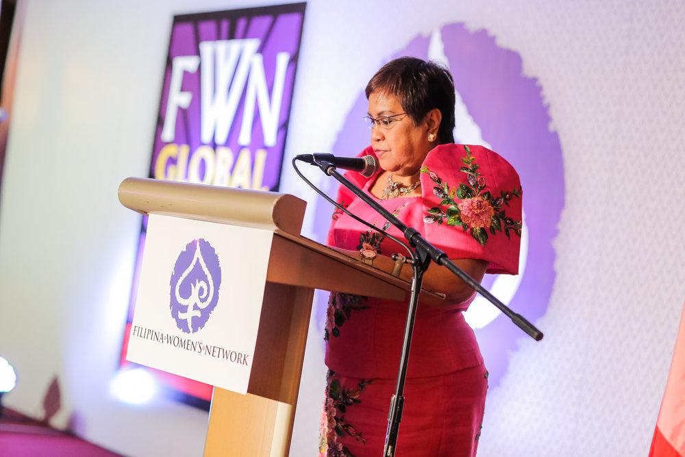 Lorna Patajo-Kapunan Global FWN100 2016