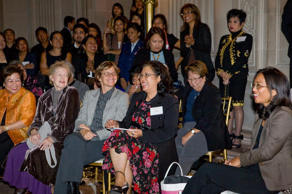 Scene from FWN Filipina Leadership Global Summit