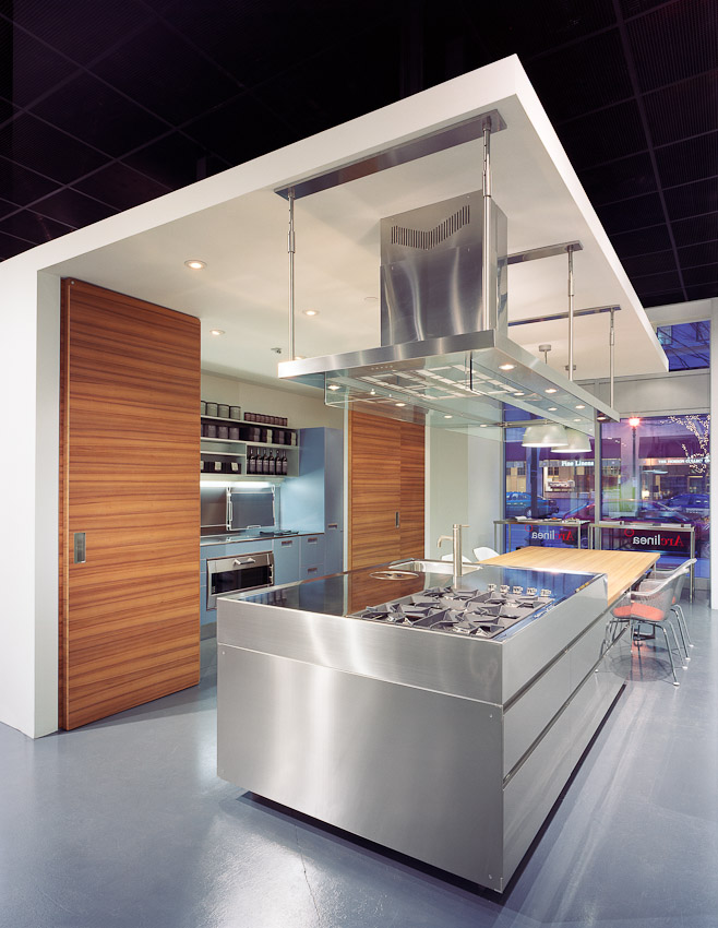 Project:  Arclinea Showroom  Location:  Boston, MA  Designed by:  Arclinea