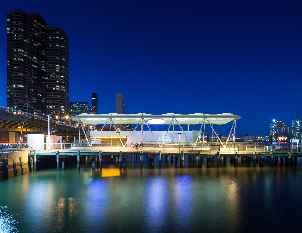 Project: 34th St Ferry Terminal  Location: New York, NY  Designed by:  Kennedy & Violich