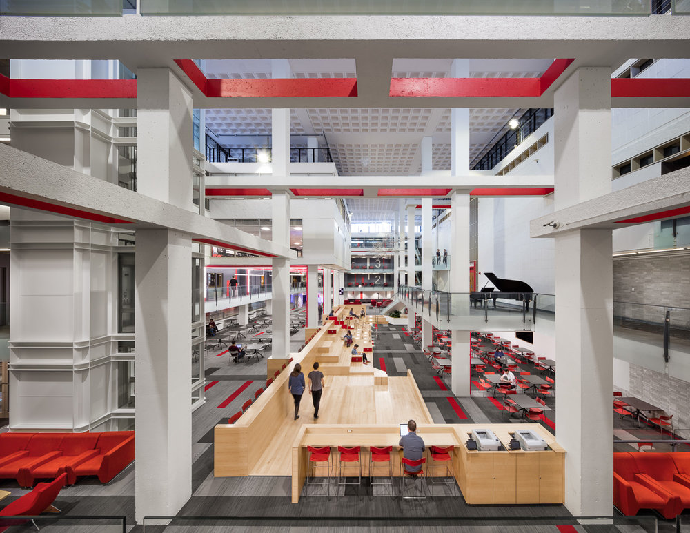 Curry Student Center, Northeastern University (FN)