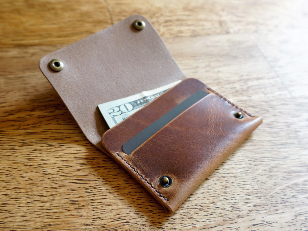Leather Snap Wallet | Features Leather Goods | Slightly Alabama ...