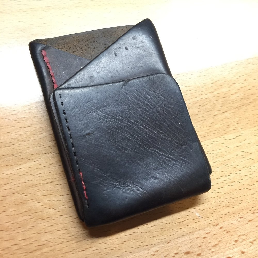 before front wallet