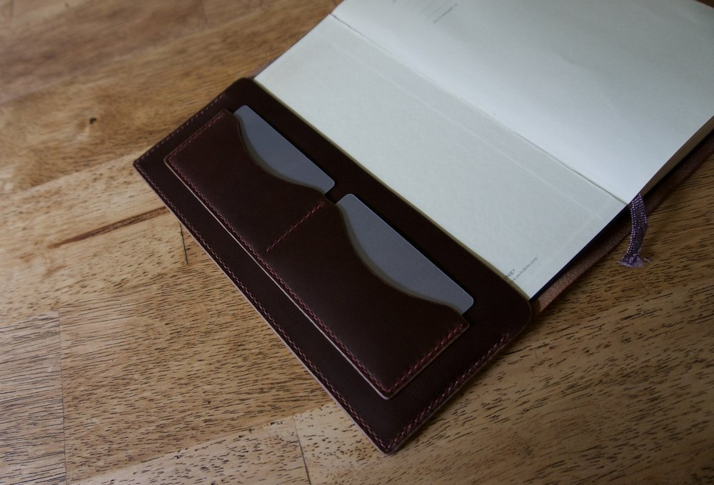 moleskine card pockets