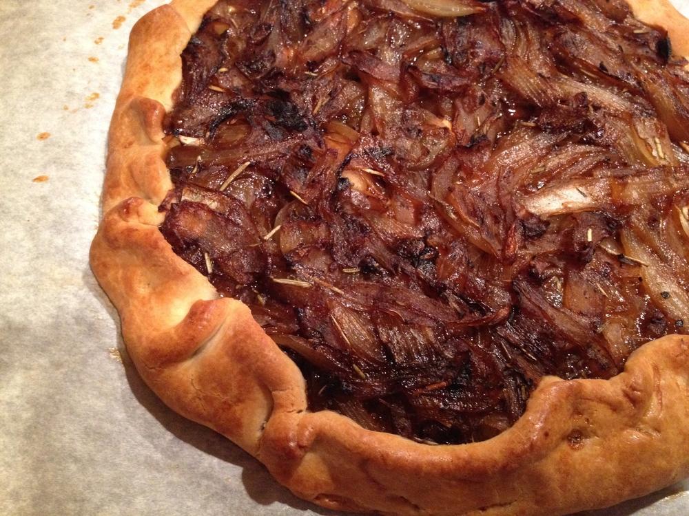 Rustic Onion Tart