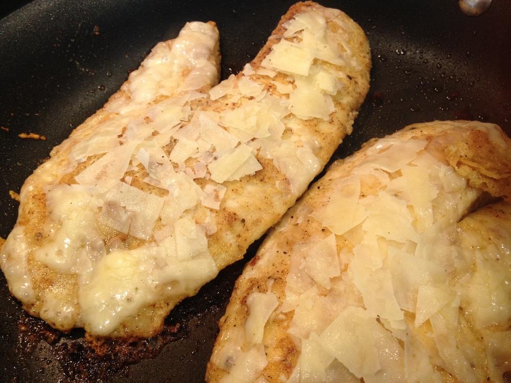 Parmesan Topped Tilapia