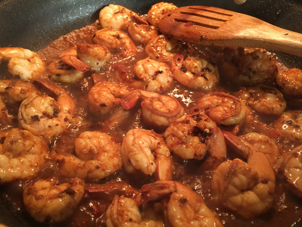 Spicy Sauteed Shrimp