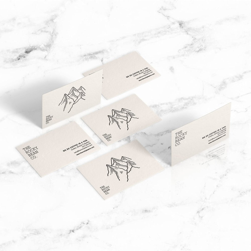 THE ROCKY BEAN CO.   • branding • identity • logo design • print •      CLICK TO SEE CASE STUDY