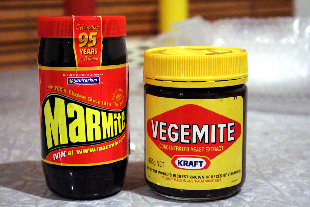 Vegemite and Marmite are regular parts of the British and Australian diets, but they can taste strange to Americans.