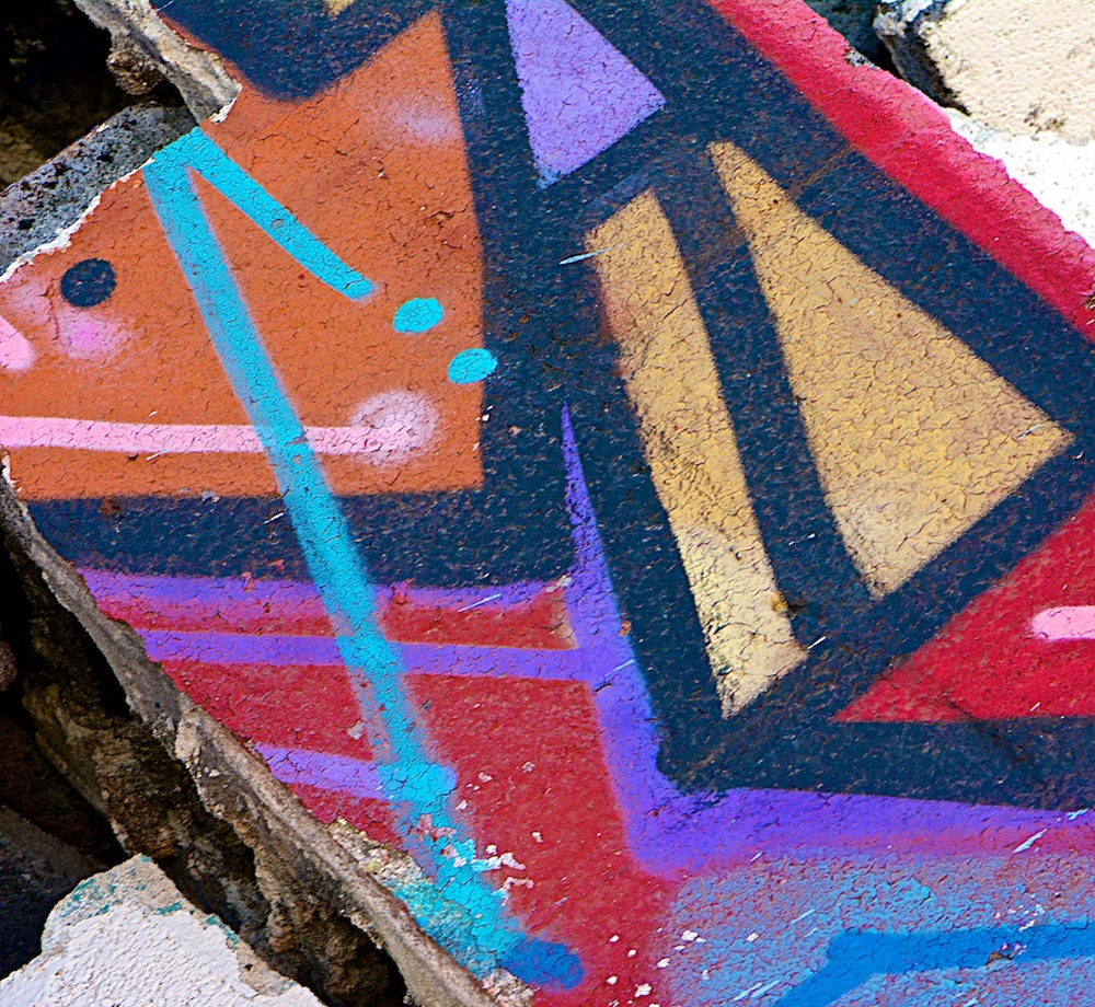 Graffiti Bricks--2