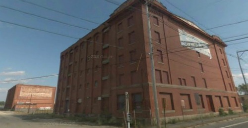 Image from Google Street View Atlas Warehouse front, Shepard Warehouse rear