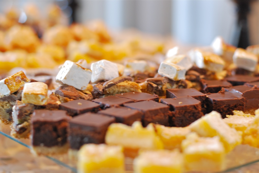 S'mores bars, chocolate truffle bars & lemon bars...to name a few!