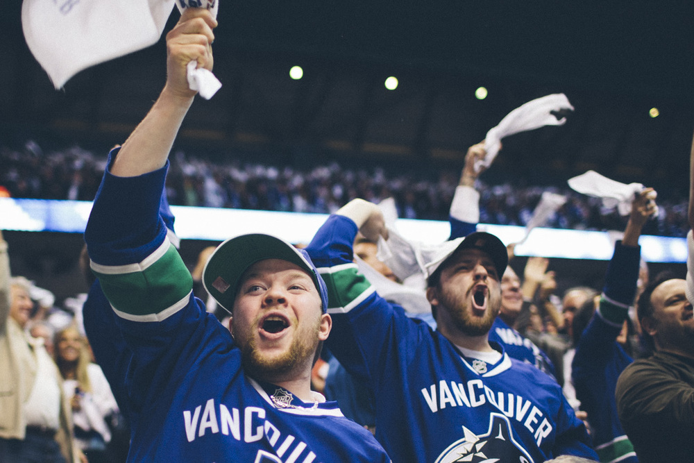 The Vancouver Canucks sent me into the playoff rounds to ride the emotional roller coaster with the fans and document a game 7 win.
