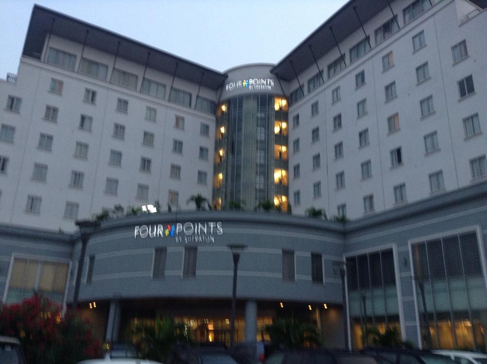 My hotel.