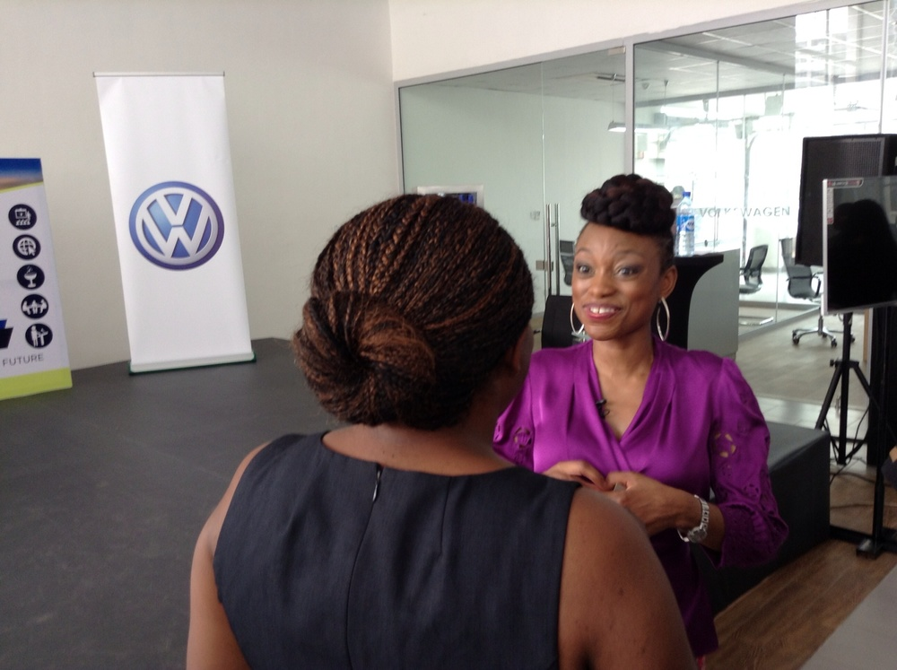 Femi Oke of Al Jazeera gave a dynamic speech!