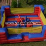 4-Man Joust Interactive Inflatable $175 (20′L X 24′W X 8′H)