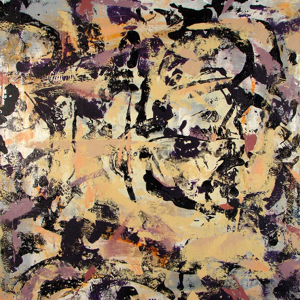 Indulgence, 2008, 24x24 Inches, acrylic on canvas