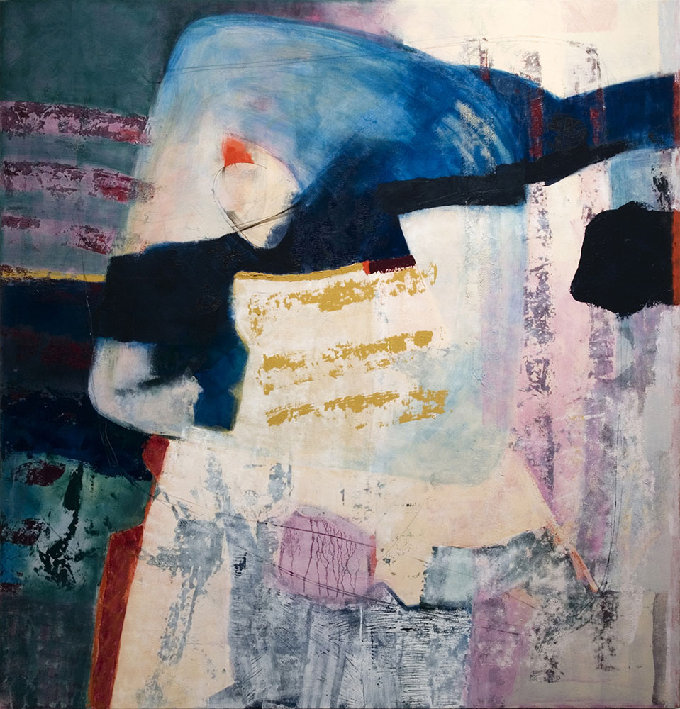 Is It Time? 2009, 52x54 inches, acrylic on canvas