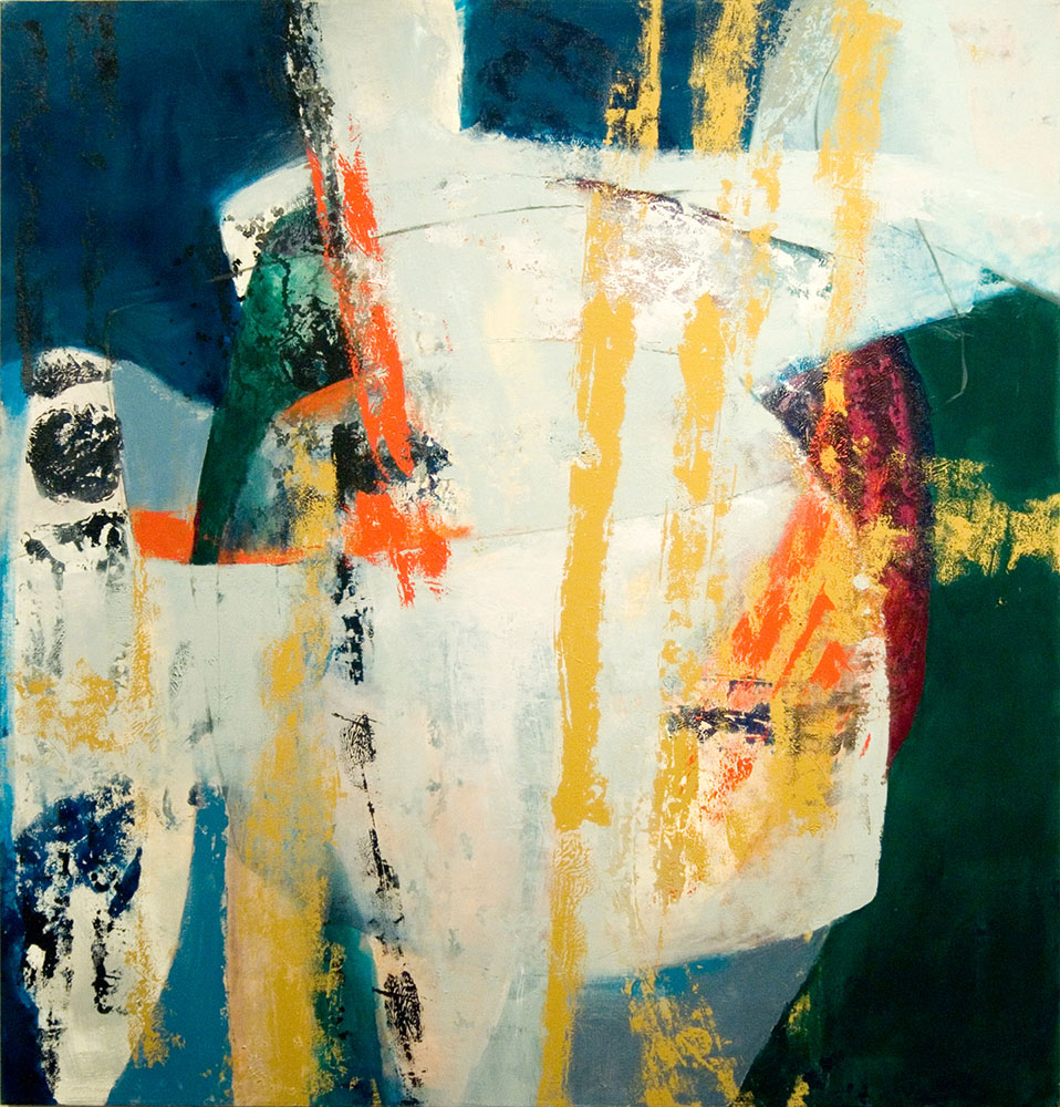 Breathing Space, 2009, 52x54 Inches, acrylic on canvas