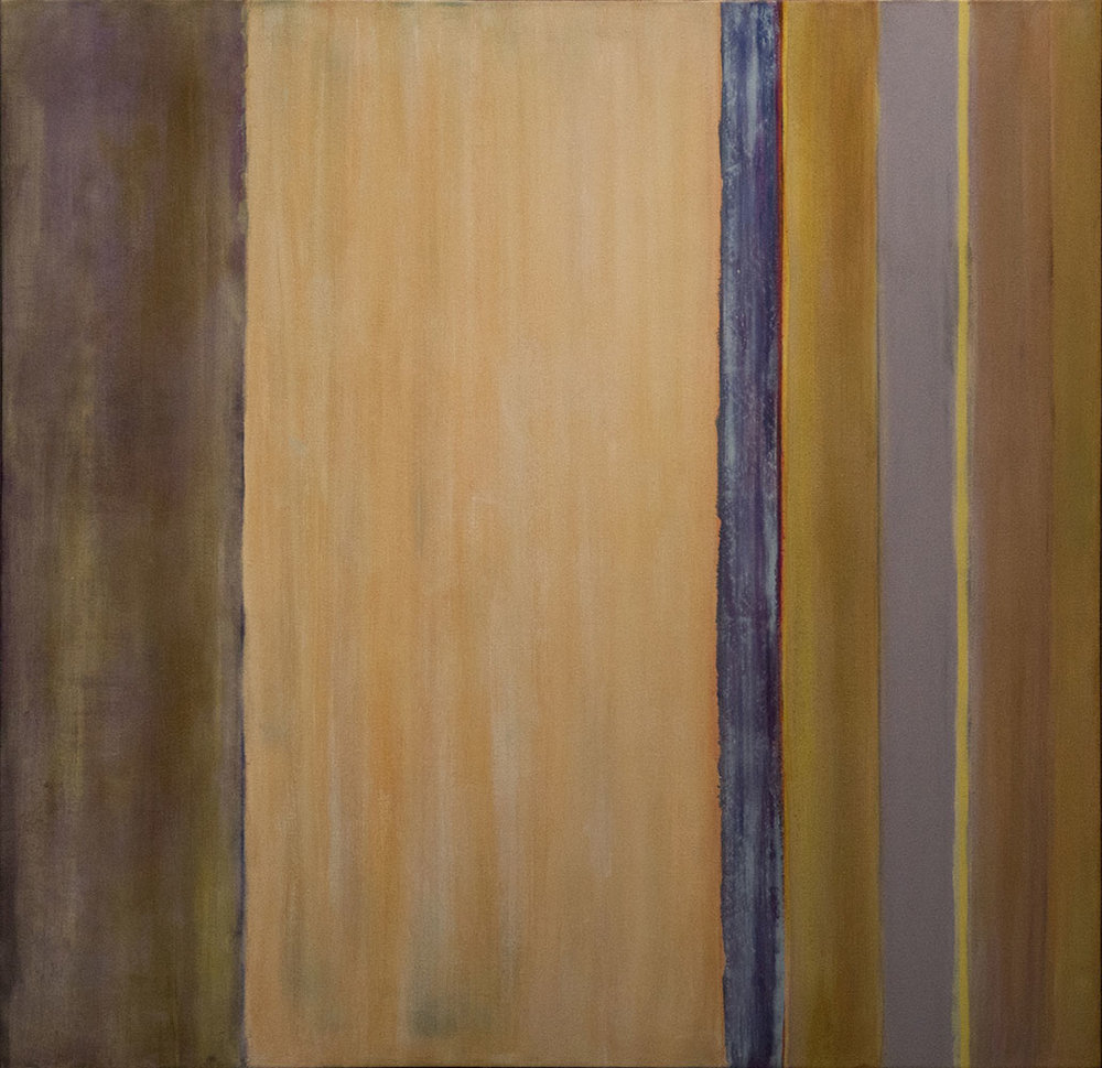 Winter Hymn I, 2013, 52x54 Inches, acrylic on canvas