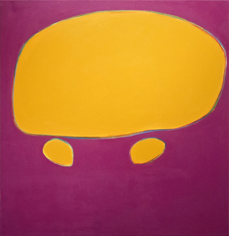 Momma II, 2014, 52x54 inches, acrylic on canvas