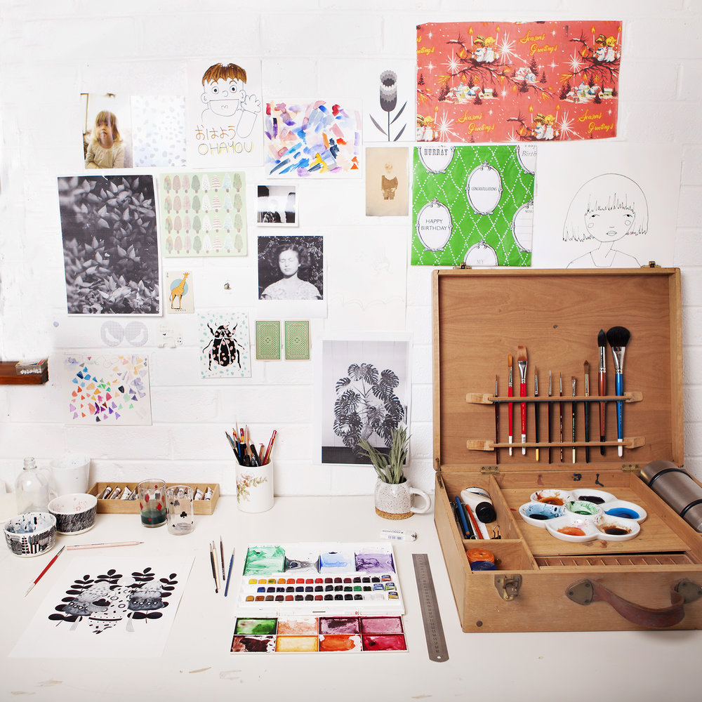 Illustration studio