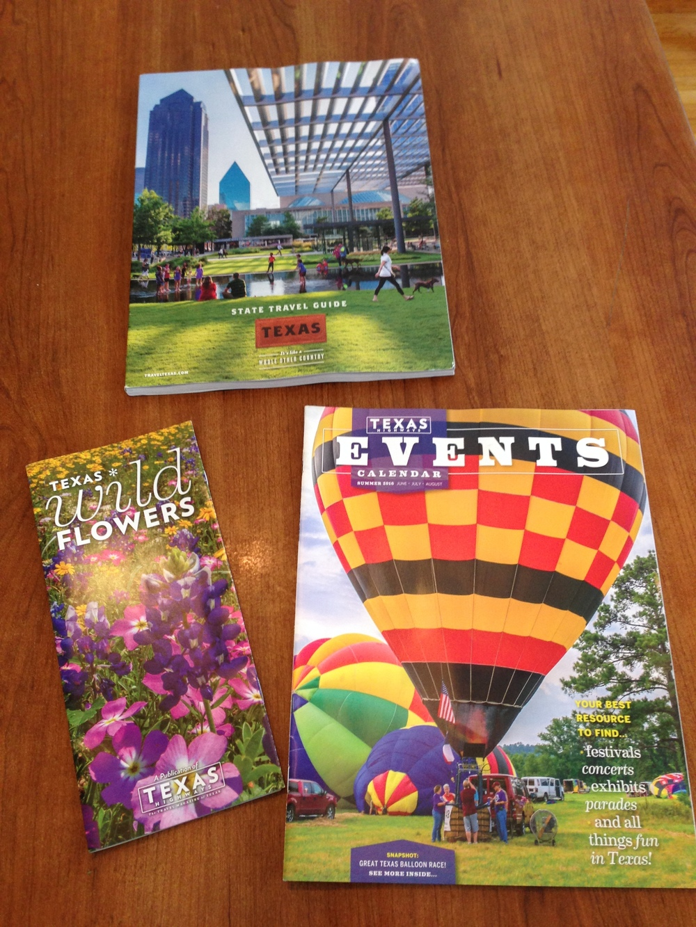 Texas Travel Guide, Wildflower Guide and Events Calendar