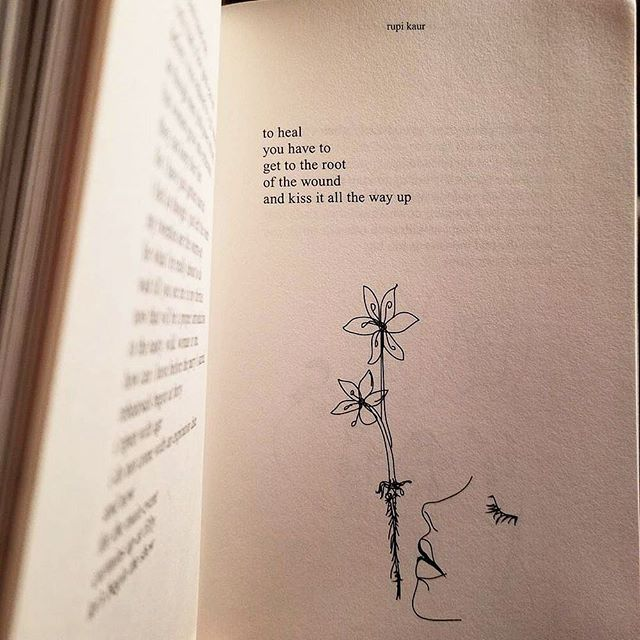 When poetry gives you butterflies 🦋 @rupikaur_