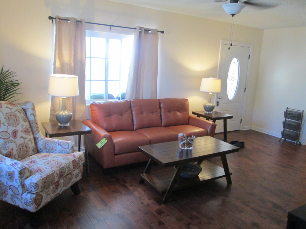 HOPE donors provided funding to furnish the entire home: from bedroom furniture to small appliances.